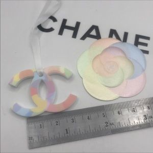 CHANEL Beauty  Colours CC Logo Ornament Handbag